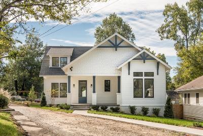 Nashville Single Family Home For Sale: 1430 B Greenwood Ave
