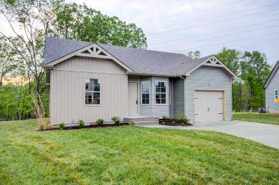 Clarksville TN Single Family Home For Sale: $166,900