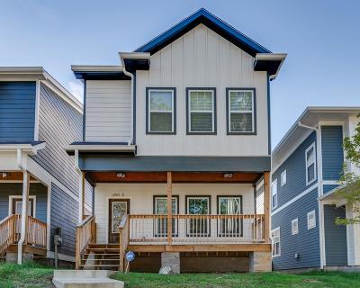 Nashville Single Family Home For Sale: 2201 B N 24th Ave