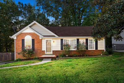Clarksville Single Family Home Under Contract - Not Showing: 2182 Ladd Dr