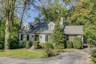 Nashville Single Family Home Under Contract - Showing: 3816 Abbott Martin Rd