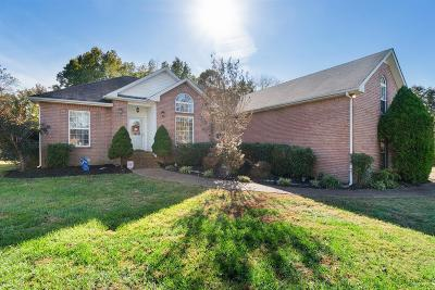 White House Single Family Home For Sale: 308 Covington Bnd