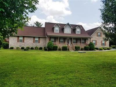Single Family Home For Sale: 1248 Old Woodbury Hwy