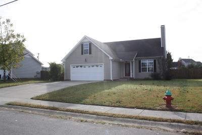 Christian County, Ky, Todd County, Ky, Montgomery County Single Family Home For Sale: 1967 Whirlaway Cir