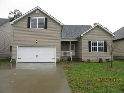 Clarksville Single Family Home For Sale: 3621 Fox Tail Dr