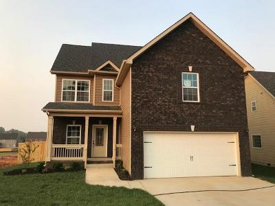 Christian County, Ky, Todd County, Ky, Montgomery County Single Family Home For Sale: 1544 Ellie Piper Circle