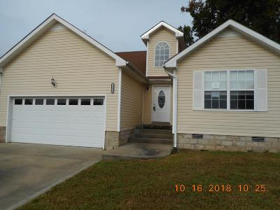 Christian County, Ky, Todd County, Ky, Montgomery County Single Family Home For Sale: 1374 Francesca Dr