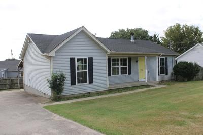 Lavergne Single Family Home Under Contract - Showing: 776 Summer Hill Ln