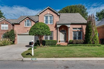 Franklin  Single Family Home Under Contract - Showing: 520 Caselton Ct