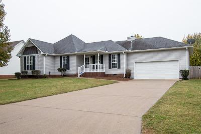 Murfreesboro Single Family Home For Sale: 1510 Hollyridge Ct