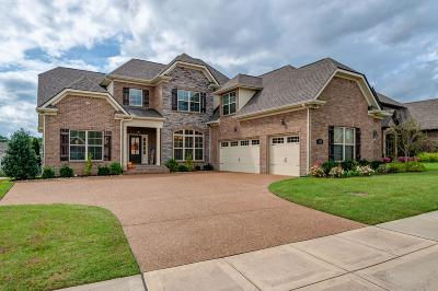 Nolensville Single Family Home Under Contract - Not Showing: 820 Queen Annes Ct