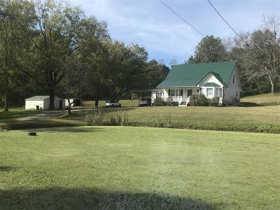 Lawrenceburg Single Family Home Under Contract - Not Showing: 137 Long Branch Rd