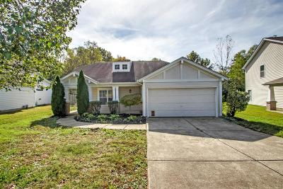Hendersonville Single Family Home Under Contract - Not Showing: 115 Trail Ridge Dr