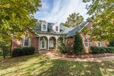 Ashland City Single Family Home Under Contract - Showing: 324 Pebblebrook Dr