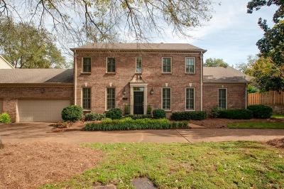 Nashville Single Family Home For Sale: 610 Linden Sq