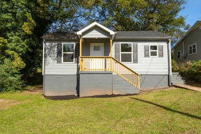 Clarksville Single Family Home Under Contract - Not Showing: 1247 Cedar St