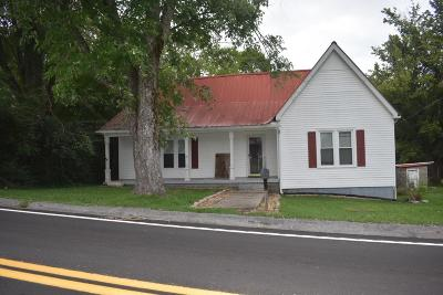 Auburntown TN Single Family Home Sold: $78,500 SOLD
