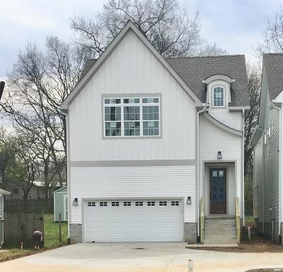 Nashville Single Family Home For Sale: 1547 Battlefield Dr