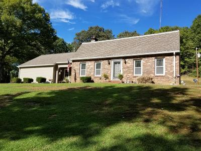 Linden Single Family Home Under Contract - Showing: 4060 Highway 412 W