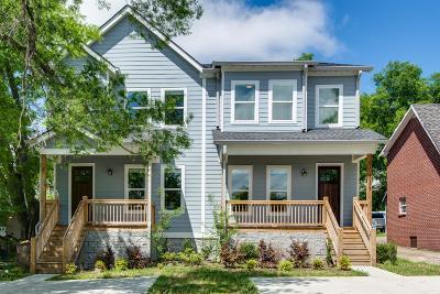 Nashville Single Family Home For Sale: 1057 B Zophi St