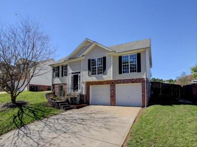 Clarksville Single Family Home Under Contract - Not Showing: 1672 Cedar Springs Cir