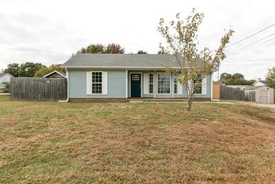 Christian County Single Family Home Under Contract - Not Showing: 945 Van Buren Ave