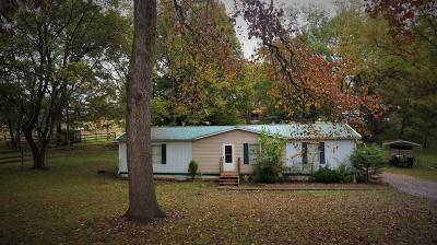Christian County Single Family Home For Sale: 1389 Good Hope Cemetery Road