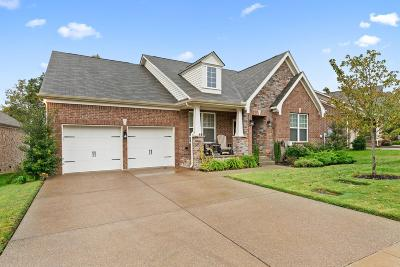 Mount Juliet Single Family Home Under Contract - Not Showing: 2712 Alvin Sperry Pass