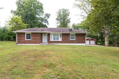 Joelton Single Family Home Under Contract - Not Showing: 3515 Binkley Road
