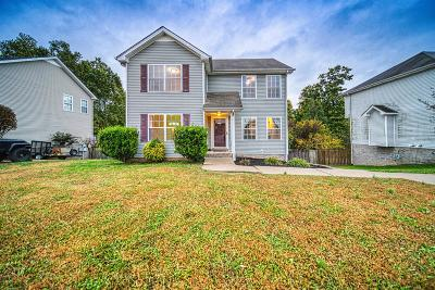 Clarksville Single Family Home Under Contract - Showing: 2829 Sharpie Drive