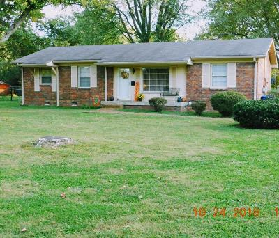 White House Single Family Home Under Contract - Showing: 107 Oakdale Dr.
