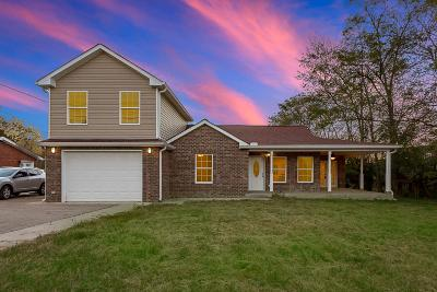 Clarksville Single Family Home For Sale: 420 Thompkins Ln
