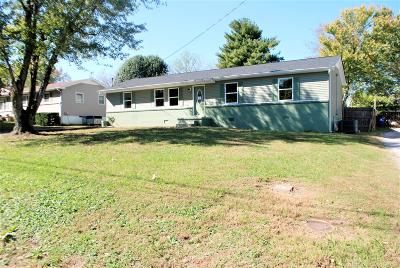 Shelbyville Single Family Home Under Contract - Not Showing: 945 Horse Mountain Rd