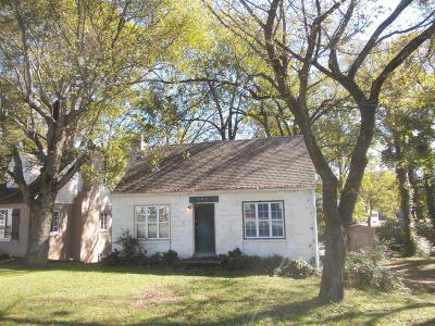 Madison Single Family Home For Sale: 605 Idlewild Ave