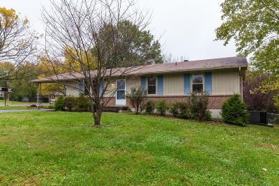 Hendersonville Single Family Home Under Contract - Not Showing: 120 Evergreen Cir