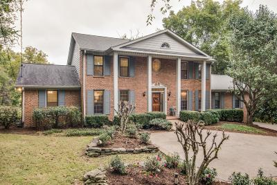 Brentwood TN Single Family Home For Sale: $675,000
