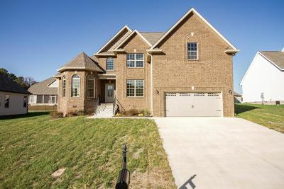 Clarksville Single Family Home Under Contract - Not Showing: 1009 Chagford Dr