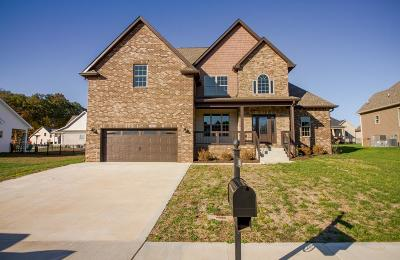 Clarksville Single Family Home Under Contract - Not Showing: 1005 Chagford Dr