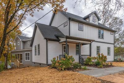 Nashville Single Family Home For Sale: 1501 Porter Rd
