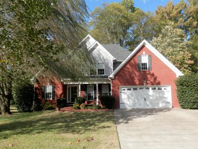 Clarksville Single Family Home For Sale: 2891 Prince Dr
