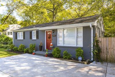 East Nashville Single Family Home For Sale: 2903 Jones Ave