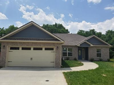 Clarksville TN Single Family Home Under Contract - Showing: $185,000