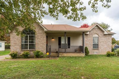 White House Single Family Home Under Contract - Showing: 108 Sycamore Dr
