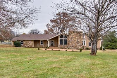 Gallatin Single Family Home For Sale: 1005 Pruitt Ln