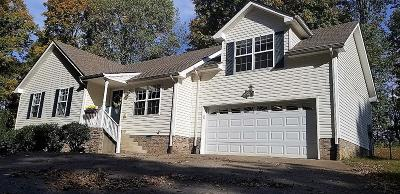 Clarksville Single Family Home Under Contract - Not Showing: 2708 Cider Dr