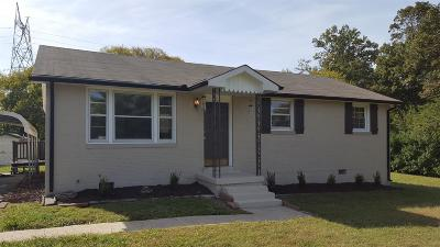 Lavergne Single Family Home Under Contract - Showing: 117 Sunrise Ave