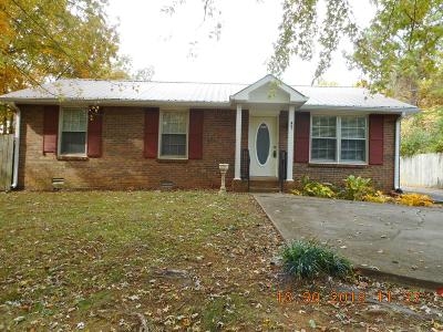 Clarksville Single Family Home Under Contract - Showing: 401 Gold Lane