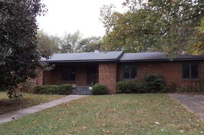 Murfreesboro TN Single Family Home Under Contract - Not Showing: $174,900
