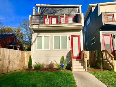 Nashville Single Family Home For Sale: 1912 B 16th Ave N