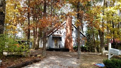 Smithville Single Family Home Under Contract - Not Showing: 589 Holiday Haven Dr